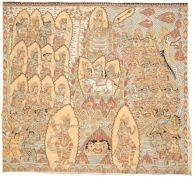 4. Turning of Mount Mandara/PemuteranMandara Giri,Mangku Mura (1920-1999), 1973. Collection of Hanifah Komala