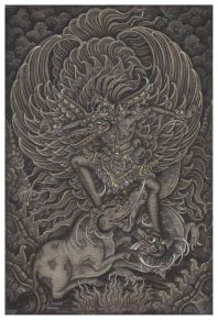 Garuda, Vibhavasu, Supratika, Ketut Madra, 1973. Collection of David Irons