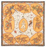 6. Sanghyang Widi Compass Mandala, Wayan Suwecha, 1973. Collection of David Irons