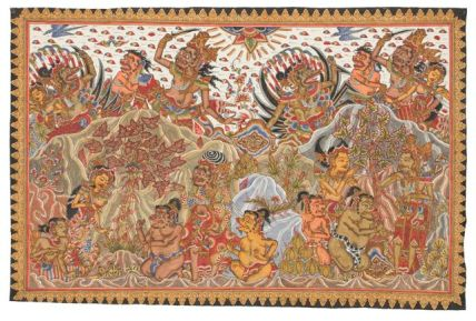 28. Abduction of Sita, Made Swacita, 1973. Collection of David Irons