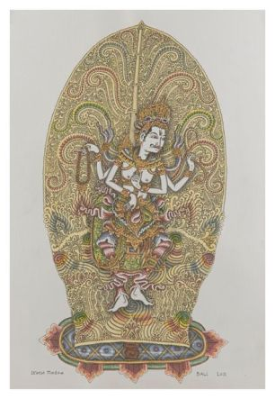 Siwa Mahaswara, Ketut Madra, 2011, Collection of Ketut Madra