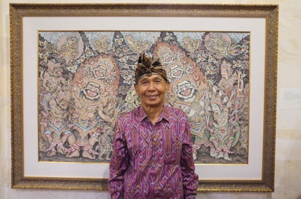 The artist, Ketut Madra